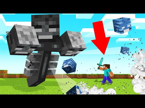MINECRAFT But ALL MOBS Are GIANT! (Dangerous)