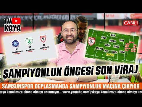 TFF 1. Lig'de Şampiyonluk Düğümü... Samsunspor, Giresunspor ve Adana Demirspor'd