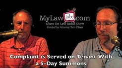 Tenant Eviction Process in Florida