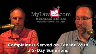 OLTenant Eviction Process in Florida