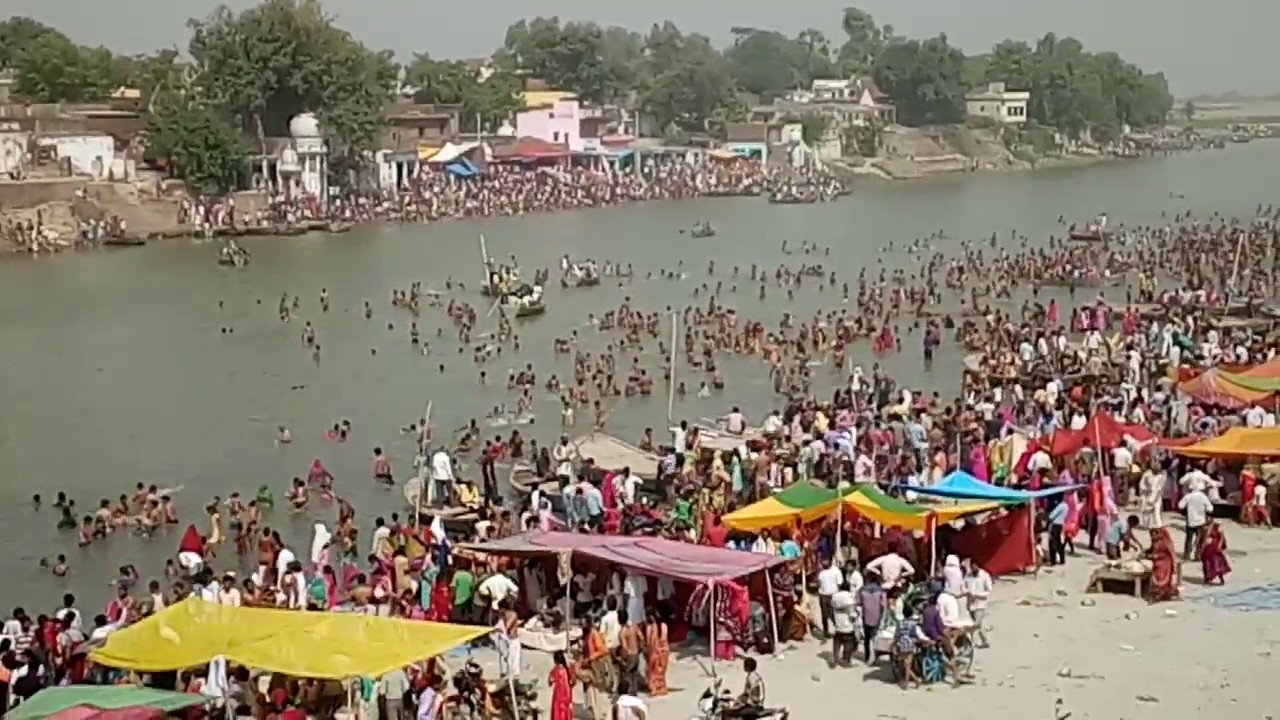 Ganga Dashahra @ Ganga ji Ghatiya ghat (Panchal Ghat), Farrukhabad - YouTube