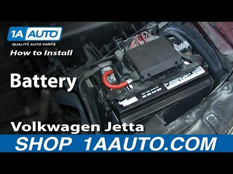 How to Replace Battery 00-05  Volkswagen Jetta or Golf