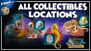 Nightmares from the Deep 2 The Sirens Call - All Collectibles Locations