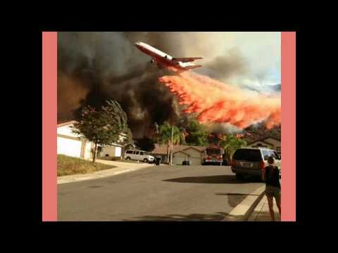 CALIFORNIA'S WILDFIRES!  What's in flame retardant?