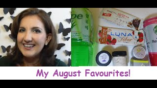 My August Favourites - Starbucks, Face Masks, Healthy Snacks & More! Thumbnail