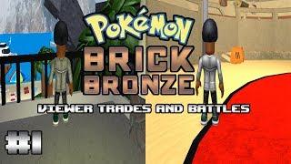 Ronald Streams Roblox - Pokemon Brick Bronze - Viewer Trades and Battles