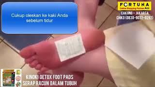 Kinoki Gold Detox Foot Pads 1 Box isi 10 Kiyome Koyo Kesehatan Penyerap Racun