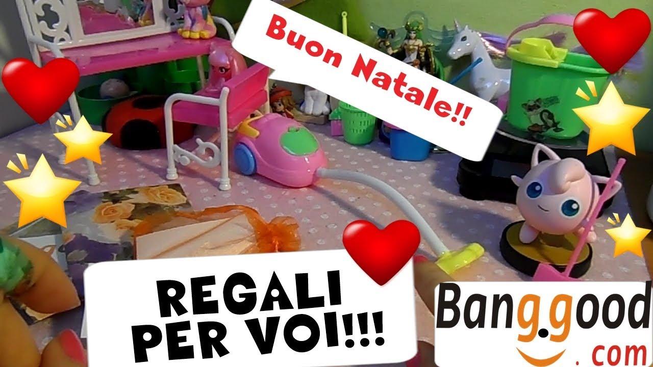 Buon natale 3 regali per voi fan dal sito banggood by for Sito regali gratis