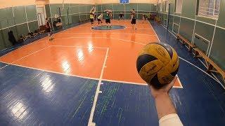 Волейбол от первого лица. 10 эпизод. Volleyball actions.