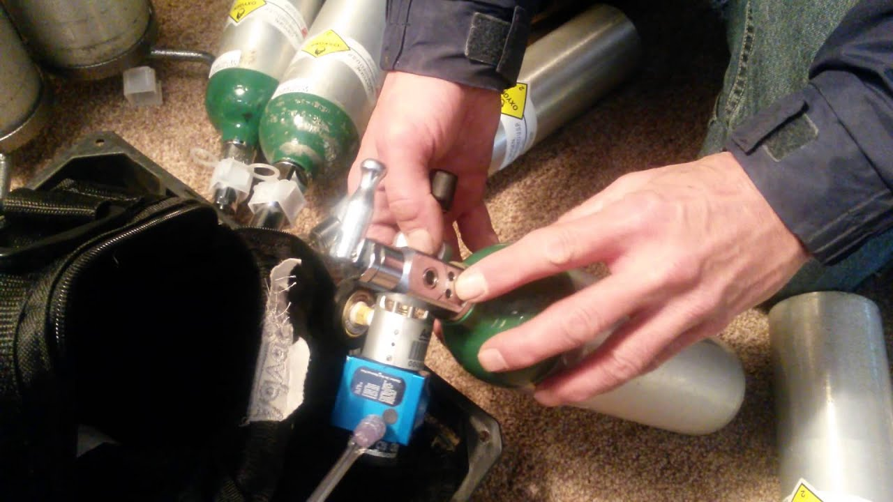 How To Change A Home Oxygen Tank Quickly Youtube