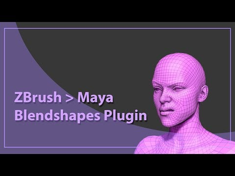 ZBrush Maya Blendshapes