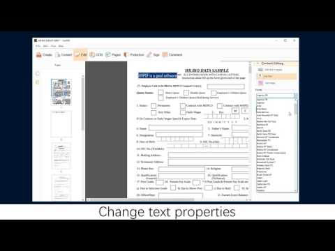 How to Insert Text into a PDF Document