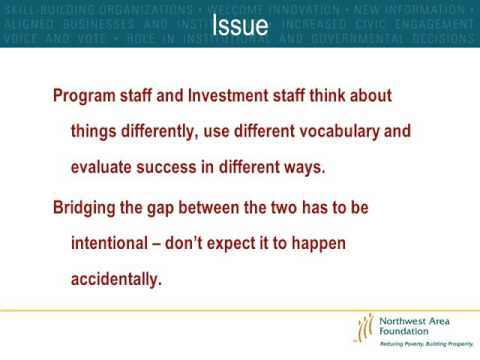 Webinar: Bridging the Gap Between the Investment Office & the Program Office