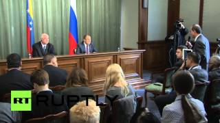 "Russia: ""Sanctions do not influence us!"" Lavrov says"