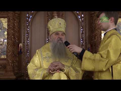 Митрополит Санкт-Петербургский Варсонофий возглавил литургию в храме Тихвинской иконы Божией Матери.