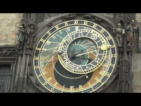 捷克布拉格舊市政廳天文鐘(Astronomical Clock, Prague, Czech ...