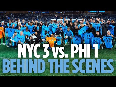 BEHIND THE SCENES | NYCFC vs. Union | 10.28.18