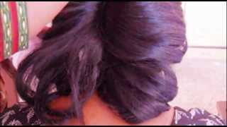 Homecoming Knotted Hair Bun Updo Hairstyle for Medium Hair Tutorial/Wedding Bridal Haid Do Thumbnail