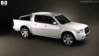 Ford Ranger Double Cab 2003 By 3d Model Store Humster3d.com