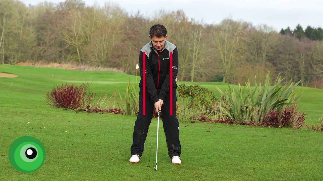 Golf Stance Tips and Setup Position - YouTube