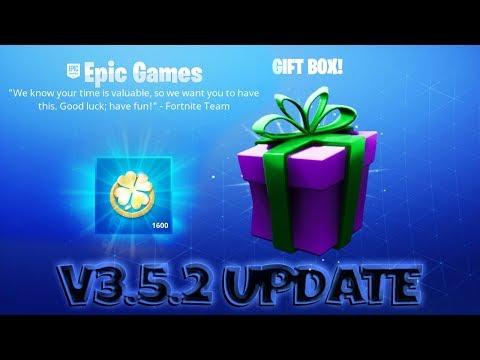 FORTNITE PvE : UPDATE ~ V.3.5.2