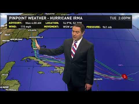 6 a.m. Monday Hurricane Irma Update