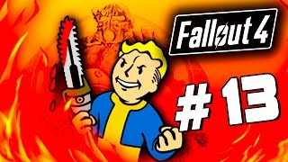 Fallout 4 - КРУТЫЕ МАНЁВРЫ - Заселение города 60 Fps 13