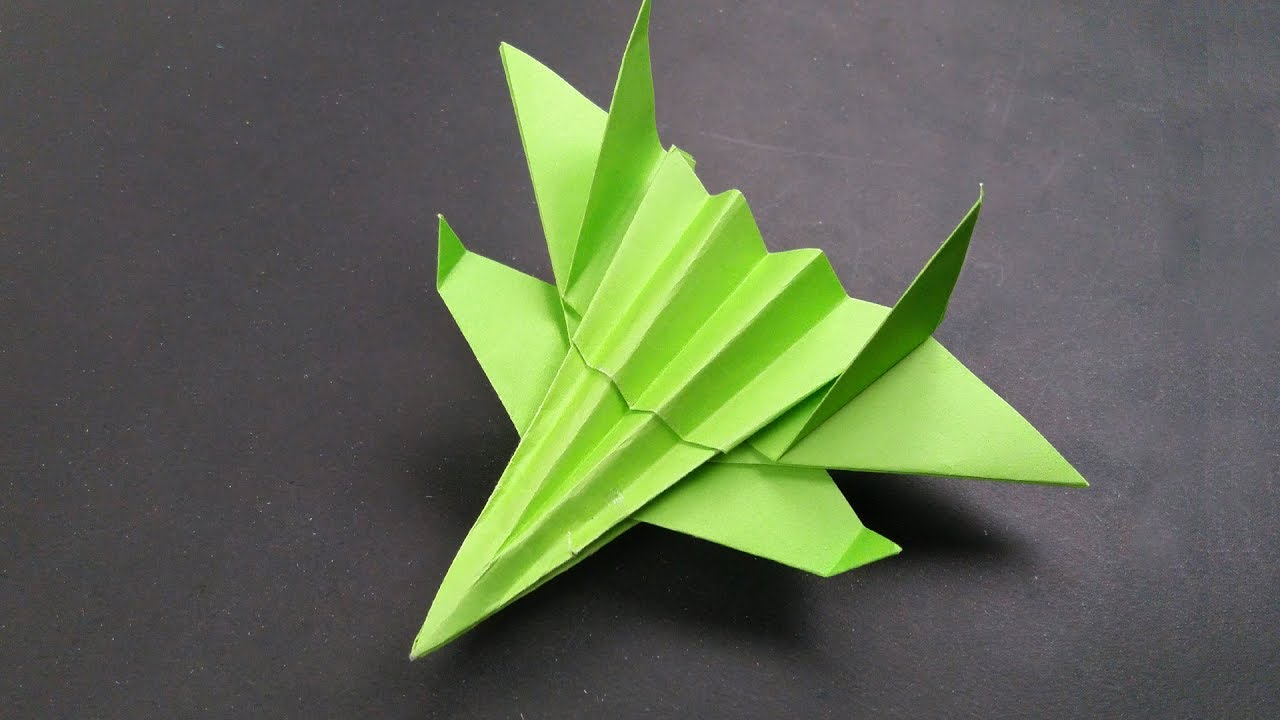 how to make the best paper jet