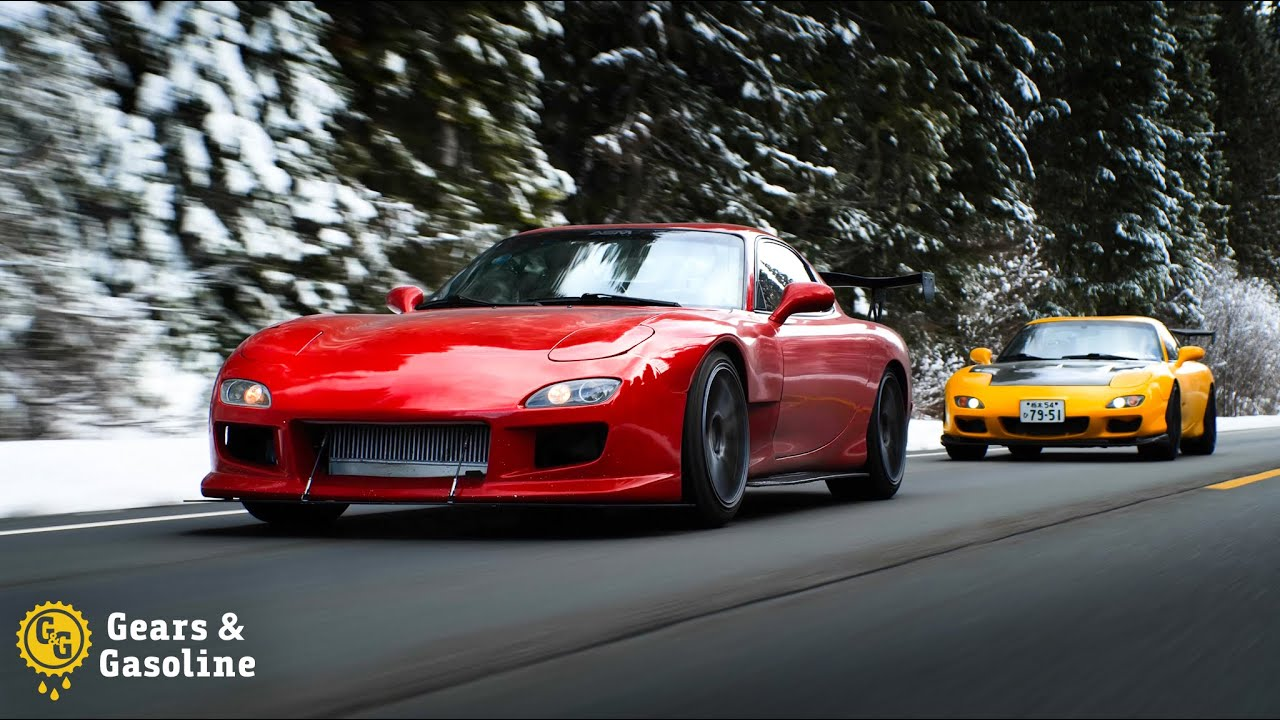 Driving 48 States in Two Mazda FD RX7s - Episode 3