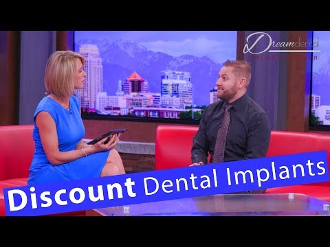 Discounted All on 4 dental implants, replace your dentures!