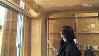 Современная деревянная архитектура: достопримечательности Цюриха(Современная деревянная архитектура позволяет чувствовать себя на работе как дома -- в новом офисе издатель..., 2013-08-27T05:46:57.000Z)