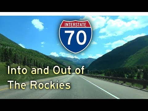 Grand Circle Tour II - Ep 11 || Interstate 70 Colorado #2: The Rocky Mountains