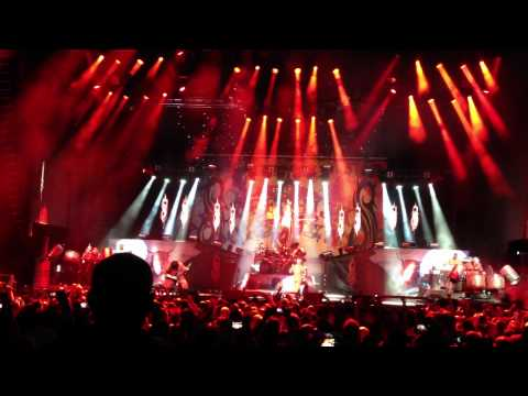 Slipknot Live @  Auburn WA Rockstar Mayhem Festival 2012