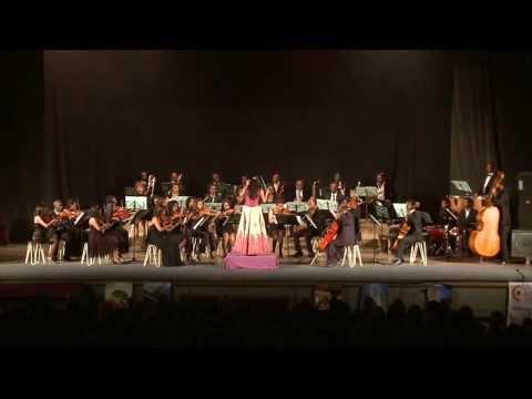 Ethio-Spanish Classical music Concert, Silvia Sanz, Conductor