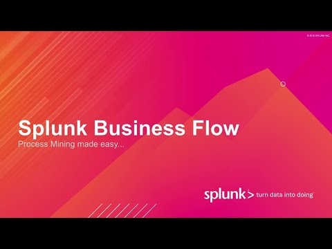 Splunk Business Flow Demo Video thumbnail