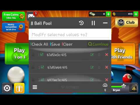 8 Ball Pool Coin Hack 2015