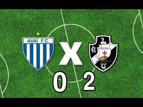 Avaí x Vasco: Vasco vence por 2 a 0