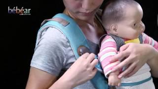 Bebamour 9 in 1 Baby Carrier Hipseat User Vedio of bebear