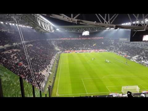 Juventus - Annuncio della squadra contro la Fiorentina