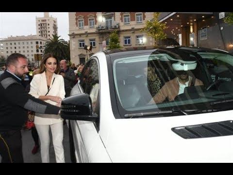 Paula Echevarría y Miguel Torres pasean su amor por Málaga