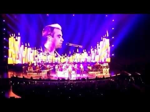 Robbie Williams Tour 2015 - Angel - Live from Slovakia Bratislava