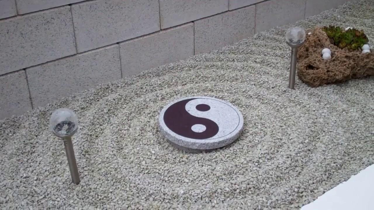 granit yin yang stein f r garten und terrasse lilo siegel youtube. Black Bedroom Furniture Sets. Home Design Ideas