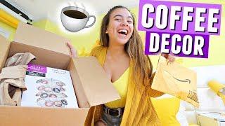 NEW COFFEE CORNER ROOM DECOR!☕