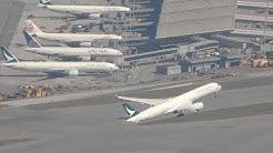 Hong Kong Airport with ATC