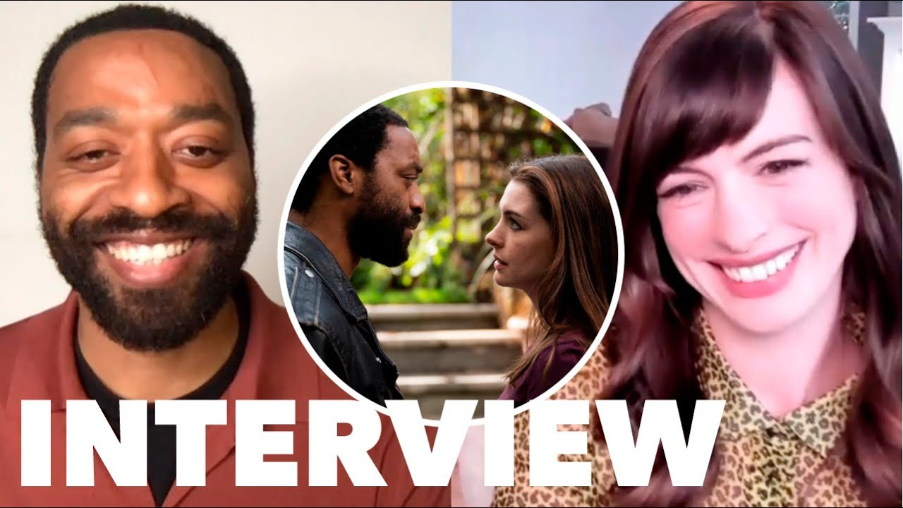 Download LOCKED DOWN Interview: Anne Hathaway and Chiwetel Ejiofor Talk New Quarantine-Filmed Comedy