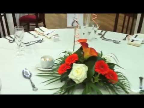 Wedding Decoration at Wortley Hall, Sheffield
