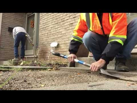 Patio Stones   Fix And Level   Easy Way To Do It