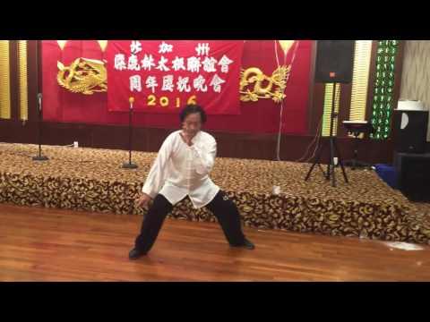 William Bi Chen Tai chi @ Elk Grove Taichi Association Anniversary Celebration 2016
