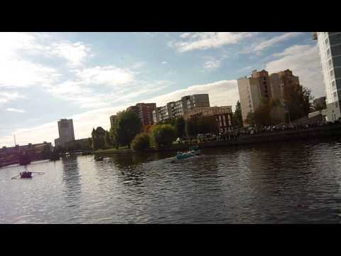 Речные покатушки на больших лодках Калининград River Travel on large boats Kaliningrad