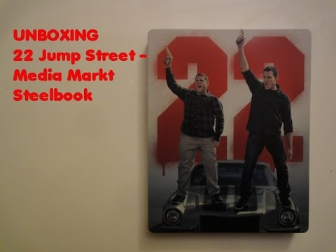 Unboxing - 22 Jump Street - Media Markt exklusiv Steelbook